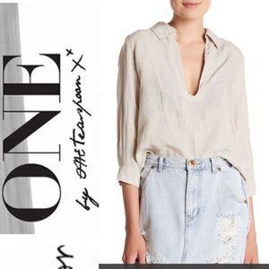 One teaspoon le pure linen shirt